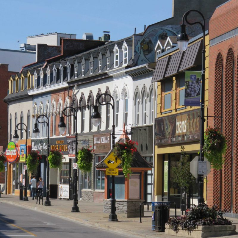 Signs of Change in Downtown St. Catharines