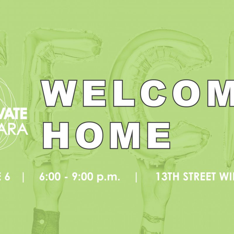WELCOME HOME - Twitter - GREEN