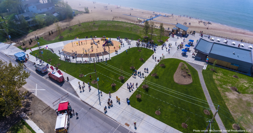 Fort Erie's Bay Beach has grand reopening