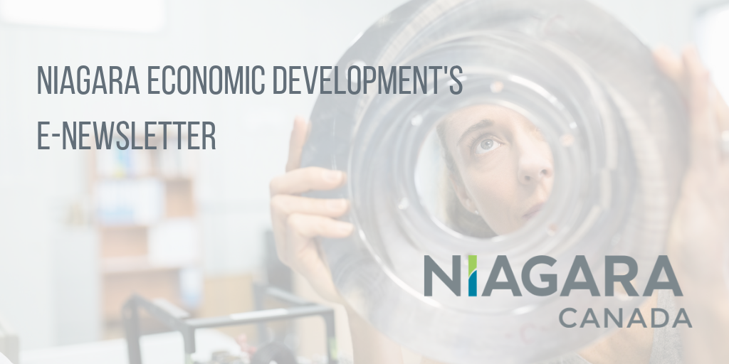 Niagara Economic Development Launches E-Newsletter