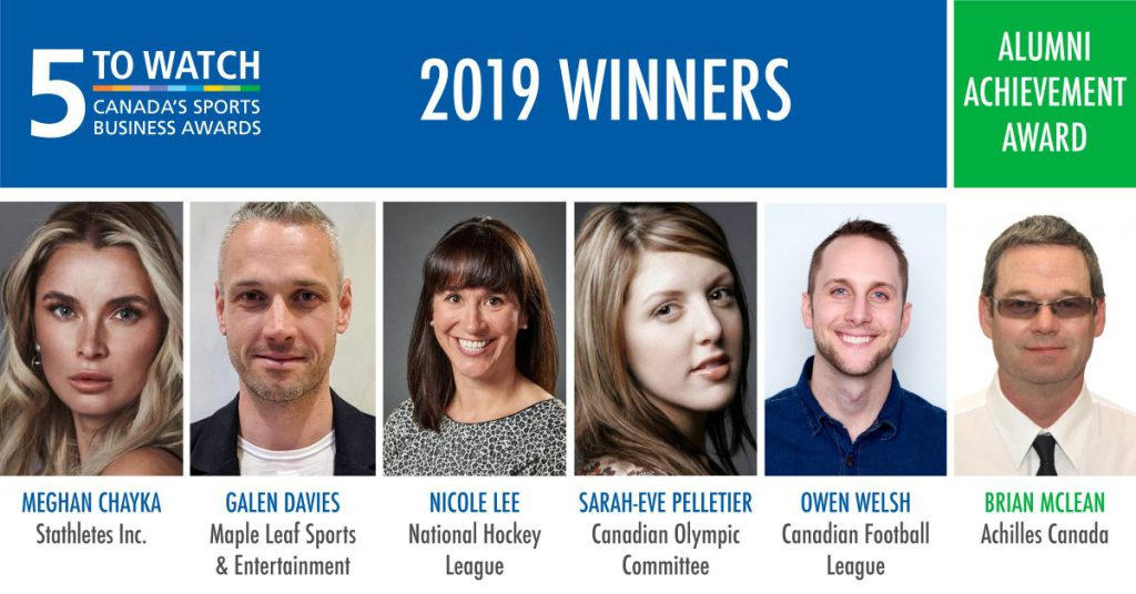 Niagara talent recognized at sports business awards