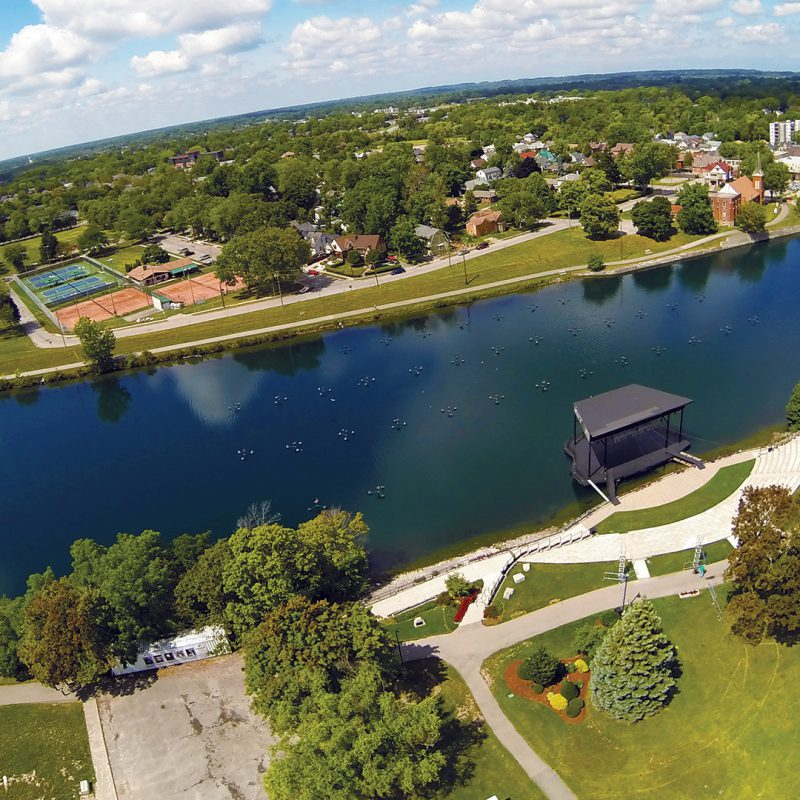 All roads (and canals) lead to a booming Welland