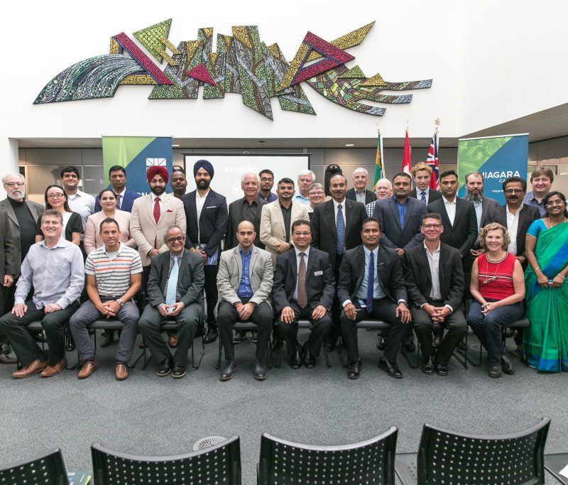Indian Business Delegation visits Niagara