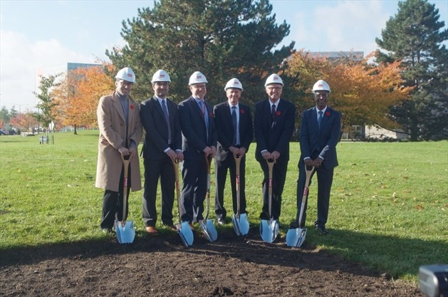Brock breaks ground on new $40-million student residence, 2019-10-28