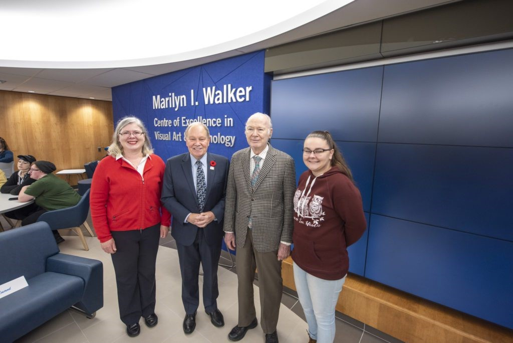 Niagara College Opens Marilyn I Walker Centre of Excellence in Visual Arts and Technology
