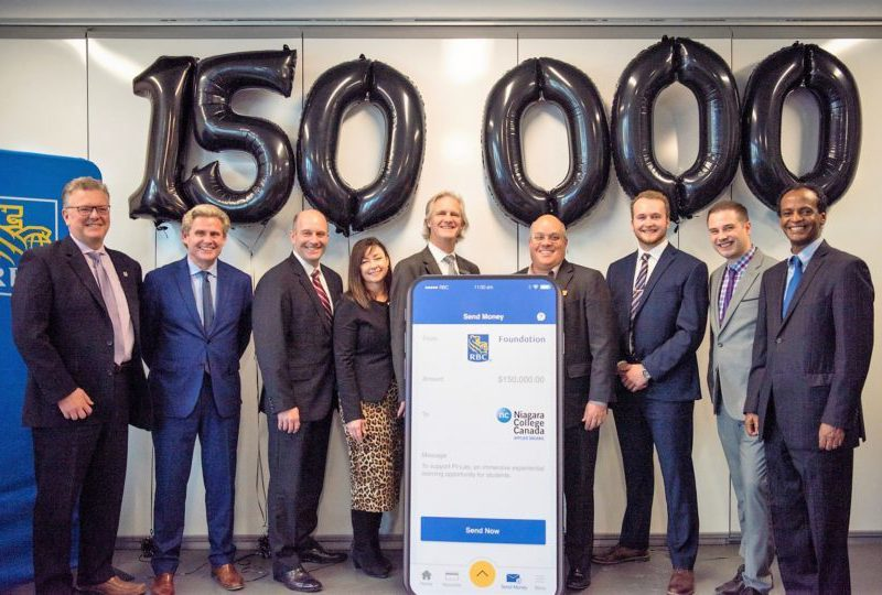 RBC Foundation invests in Niagara College's PiLab