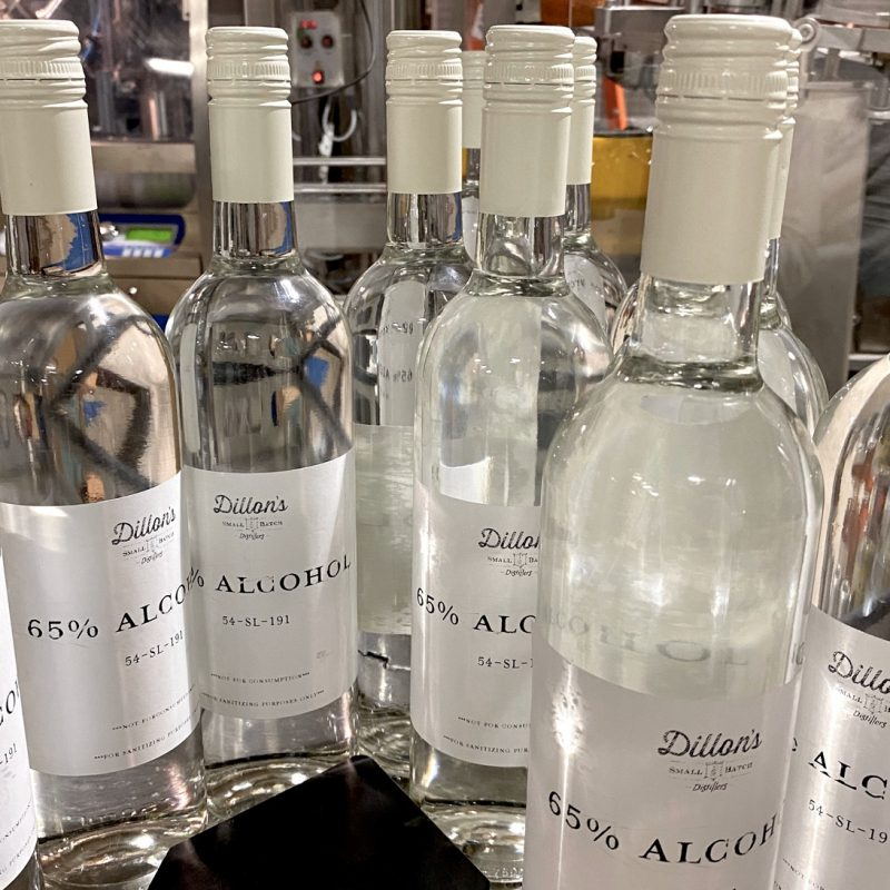 Dillion's Distillery uses resources to fill gap in supply