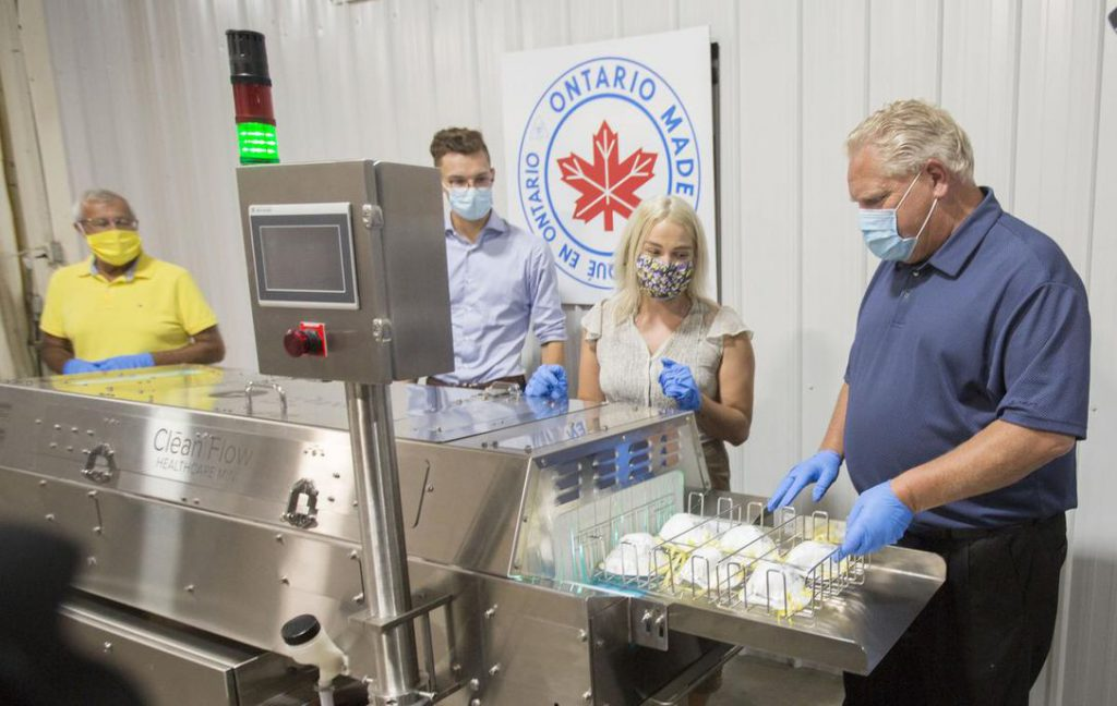 Beamsville company Clean Works receives $2M from province to expand production of sanitizing device