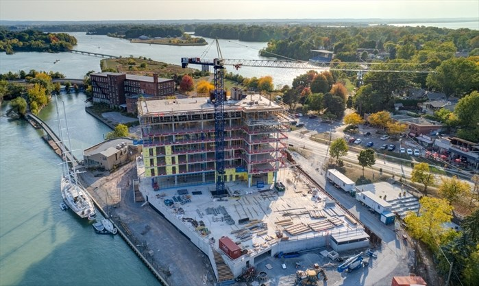 Royal Port condo construction on track for completion in 2021