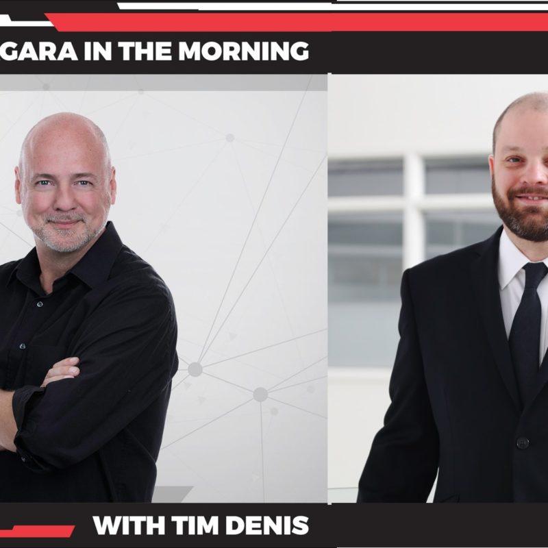 Tim Denis and Blake