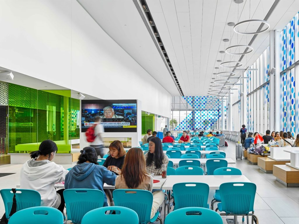 Welland Campus Student Commons Wins International Award