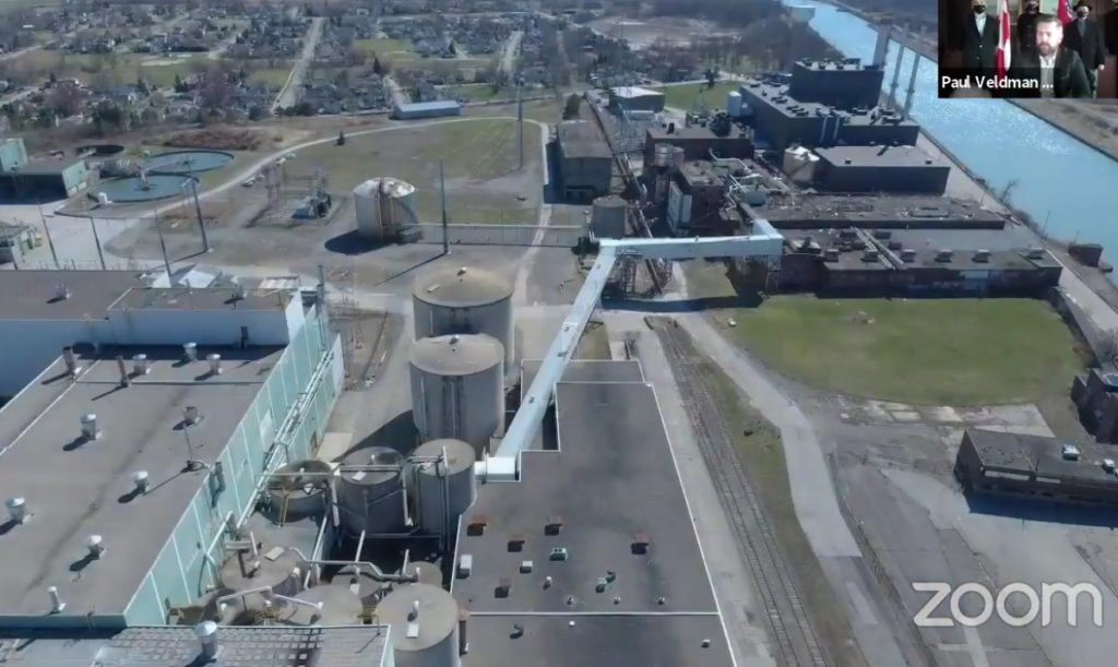 Thorold industry hub the start of a Niagara trade corridor, officials say