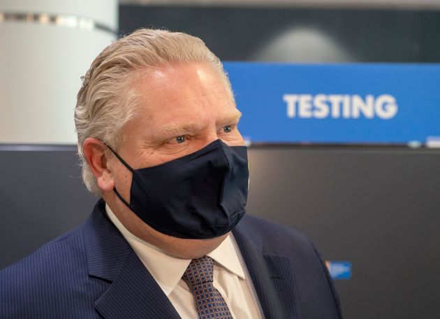 Doug Ford Lockdown Niagara