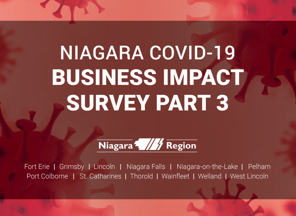 Third survey provides updated picture of COVID-19 impact on Niagara's businesses
