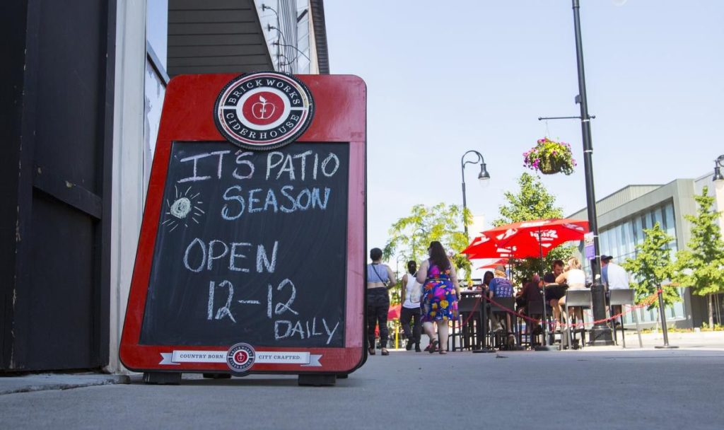 Niagara household-only patio restrictions lifted