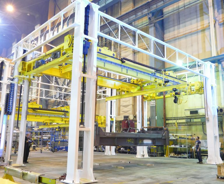 Brilliant work: Lifting INNIO projects at Welland plant
