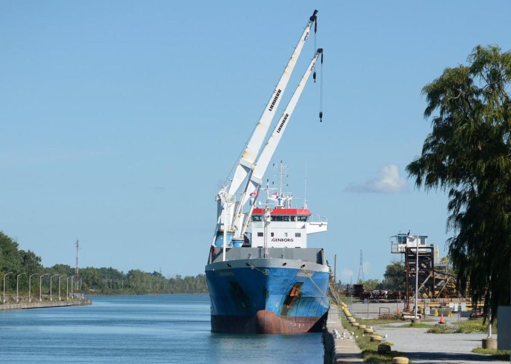 General cargo shipments up 60.51% on St. Lawrence Seaway